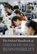 Cover for The Oxford Handbook of Corporate Social Responsibility