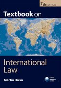 Cover for Textbook on International Law