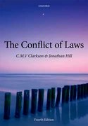 Cover for The Conflict of Laws