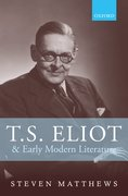Cover for T.S. Eliot and Early Modern Literature