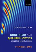 Cover for Lectures on Light