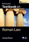 Du Plessis: Borkowski's Textbook on Roman Law 4e