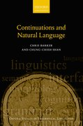 Cover for Continuations and Natural Language