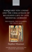 Cover for Marquard von Lindau and the Challenges of Religious Life in Late Medieval Germany