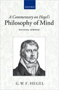 Cover for A Commentary on Hegel