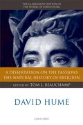 Cover for David Hume: A Dissertation on the Passions; The Natural History of Religion