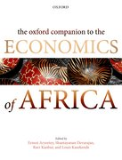Cover for The Oxford Companion to the Economics of Africa
