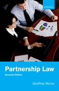 Cover for Partnership Law