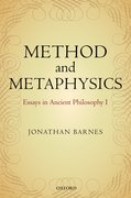 Cover for Method and Metaphysics