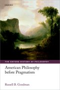 Cover for American Philosophy before Pragmatism