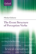 Cover for The Event Structure of Perception Verbs