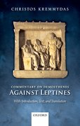 Cover for Commentary on Demosthenes Against Leptines