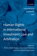 Cover for Human Rights in International Investment Law and Arbitration