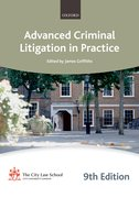 Cover for Advanced Criminal Litigation in Practice