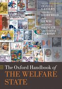 Cover for The Oxford Handbook of the Welfare State