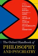 Cover for Oxford Handbook of Philosophy and Psychiatry