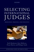 Cover for Selecting International Judges