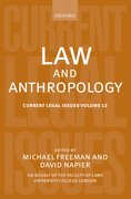 Cover for Law and Anthropology