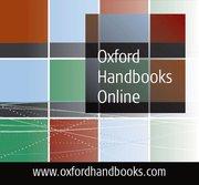 Cover for Oxford Handbooks Online
