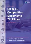 Middleton: UK & EU Competition Documents 7e