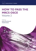 Cover for How to Pass the MRCS OSCE Volume 2