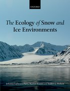 Cover for The Ecology of Snow and Ice Environments