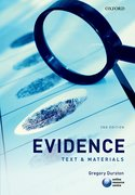 Cover for Evidence