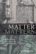 Cover for Matter Matters