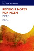 Cover for Revision Notes for the MCEM Part A