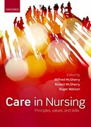 Cover for Care in nursing