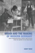 Cover for Media and the Making of Modern Germany