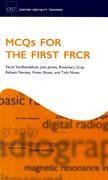 Cover for MCQs for First FRCR