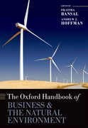 Cover for The Oxford Handbook of Business and the Natural Environment