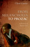 Cover for From Melancholia to Prozac