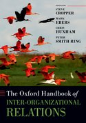 Cover for The Oxford Handbook of Inter-Organizational Relations