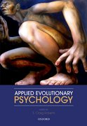 Cover for Applied Evolutionary Psychology