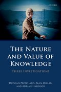 Cover for The Nature and Value of Knowledge