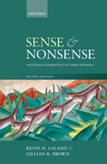 Cover for Sense and Nonsense