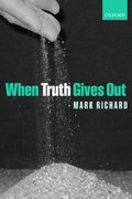Cover for When Truth Gives Out