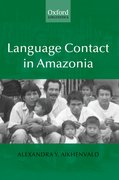 Cover for Language Contact in Amazonia