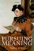 Cover for Pursuing Meaning