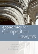 Cover for Economics for Competition Lawyers