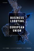 Cover for Business Lobbying in the European Union