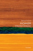 Cover for Homer: A Very Short Introduction - 9780199589944