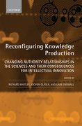 Cover for Reconfiguring Knowledge Production