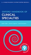 Cover for Oxford Handbook of Clinical Specialties