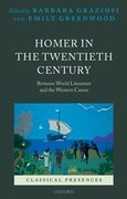 Cover for Homer in the Twentieth Century