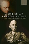 Cover for Custom and Reason in Hume