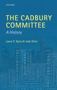 Cover for The Cadbury Committee