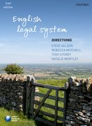 Wilson et al: English Legal System Directions 2e